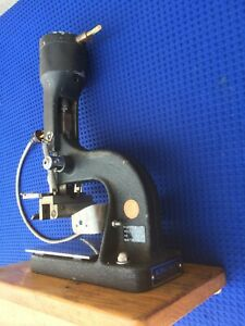 Kingsley Pneumatic Hot Stamp Machine M 75 Kw 7b Not Complete