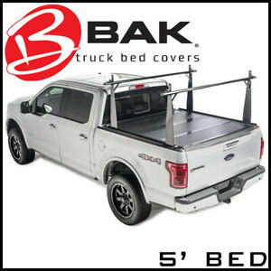 Bak Industries Tonneau Bed Cover Truck Bed Rack Fits 2005 2015 Toyota Tacoma 5