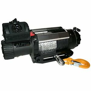 10028 Bulldog Winch 10028 Winch 12500lb Alpha Series With 6 0hp Series Wound