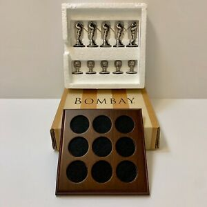 Bombay Vintage Collectible Golf Tic tac toe Desk Set Brand New Free Shipping