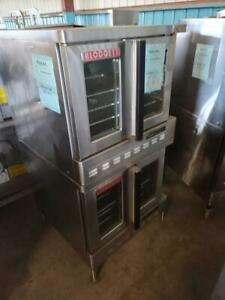 Used Blodgett Dfg 100 2 speed Dual Flow Double Gas Convection Oven
