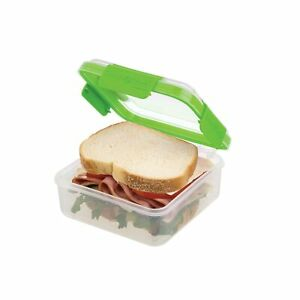 SnapLock by Progressive Sandwich Container Green Large Sandwich Container New $7.50
