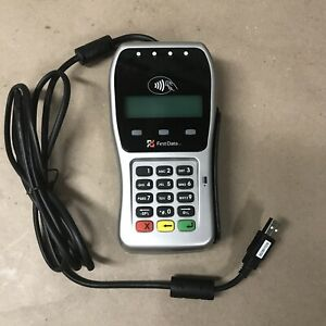 First Data Credit Card Swipe And Chip Reader Fd 35