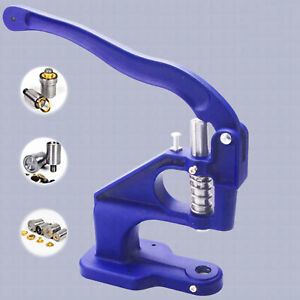 Hand Press Machine Snap Grommet Machine Hole Making for Belts Bag Leather $57.82