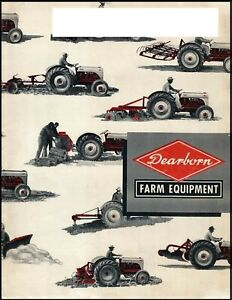 Ford Tractor Farm Implements Available Benefits Brochure