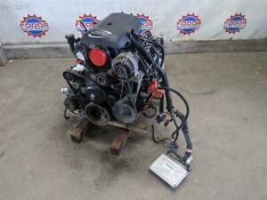 Chevy 6 0 Lq4 4l80 2wd Engine Transmission Drop Out 126k Miles Ls Swap Wiring