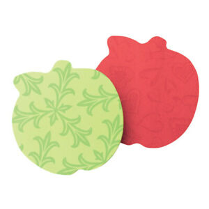 Post it Notes Super Sticky Die cut Apple Notes 3 X 3 Assorted Colors Pack