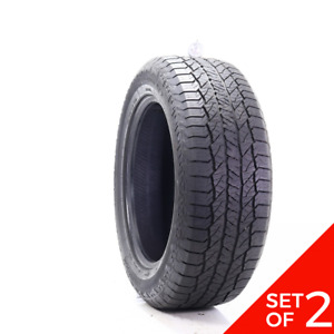 Set Of 2 Used 275 55r20 Hankook Dynapro At2 113t 7 7 5 32
