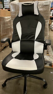 Gaming Office Chair High back Pu Leather Racing Chair Reclining Computer Chair