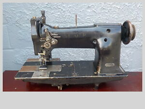 Industrial Sewing Machine Singer 112 140 With Puller leather