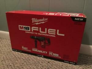 Milwaukee 2717 20 M18 Fuel 1 9 16 Sds Max Rotary Hammer Bare Tool New New New