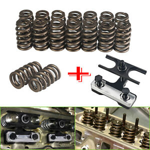 1218 Valve Spring Kit 600 Lift Compressor Tool For Gm Chevy All Ls Engines
