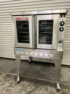 Full Size Natural Gas Convection Oven Bakery Depth Blodgett Zephaire 200 g 6359