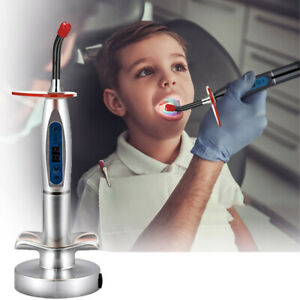 Dental Curing Light Wireless Led Light Curing Lamp Cordless Machine Dentist Tool