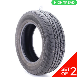 Set Of 2 Used P 245 65r17 Goodyear Fortera Hl 105s 9 10 32