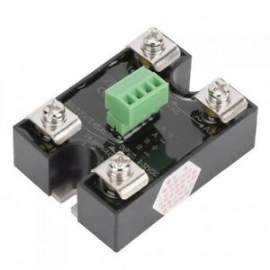 Solid State Relay Single Phase 24 480ac 3 32vdc About 58 X 44 X 28 Mm Berm Ssr