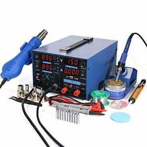 853d Usb 3a three Tools Soldering Station Hot Air Rework Station And Power