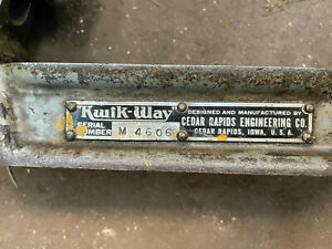 Kwik Way Portable Valve Seat Cutters And Tooling