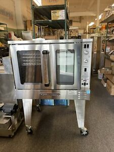 Southbend Slgs 12sc Silverstar Full Size Nat Gas Convection Oven Scratch Dent