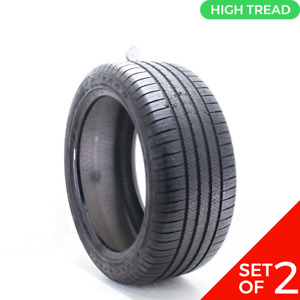 Set Of 2 Used 285 40r20 Goodyear Eagle Sport Moextended Run Flat 108v 8 5 32