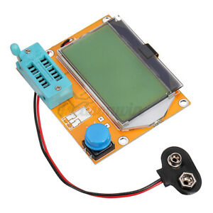 Lcr t4 12864 Lcd Graphical Transistor Tester Resistance Capacitance Esr P