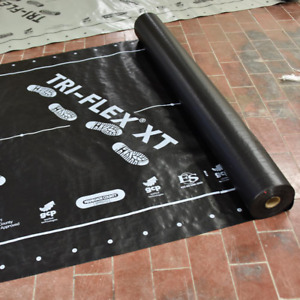 Tri flex Xt 48 In X 250 Ft Black Synthetic Roll Roofing Underlayment