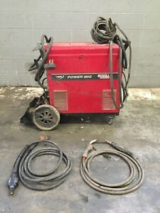 Lincoln Electric Power Mig 300 Welder