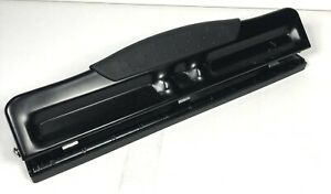 Black 3 Hole Punch Adjustable Two Or Three Hole Punch Pre Owned