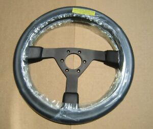 Izumi Vintage Leather Wrapped Steering Wheel New Old Stock
