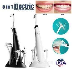 Sonic Electric Dental Scaler Tartar Calculus Plaque Stain Remove Tooth Whitening