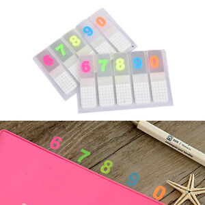 100 Sheets Marker Index Tabs Flags Sticky Note Sticky Office school Suppliesyjsl