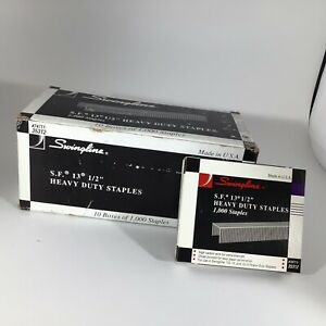 Swingline S f 13 1 2 Heavy Duty Staples Box Of 10 Boxes Made In The Usa