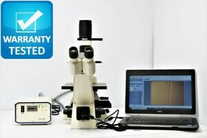 Zeiss Axiovert 25 Inverted Fluorescence Phase Contrast Microscope Unit2