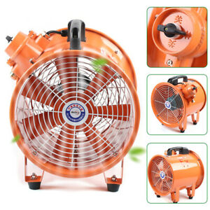 10 Portable Extractor Fan Blower Duct Axial Fan Ventilator Industrial Air Mover