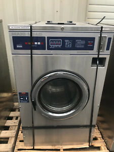 Used Dexter 1ph Maxi Load Coin Laundry Commercial Washer Laundromat