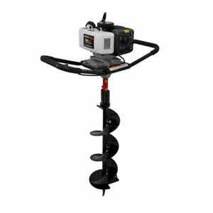 Legend Force 52 Cc 2 cycle One man Earth Auger With 8 In Bit