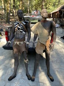 2 6 3 Tall Brown Colored Male Full Size Mannequins