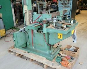 B m Root Co D170 Horizontal Wood Router Milling Machine Tooling