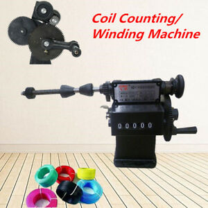 New Manual Hand Dual Purpose Electric Coil Counting Winding Machine Winder