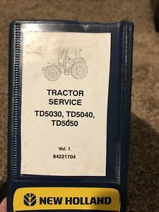 New Holland Td5030 Td5040 Td5050 Tractor Factory Service Repair Manual