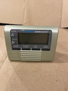 Dymo Datemark Electronic Date Time Stamp Black for Parts Not Working