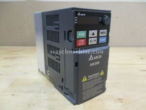 Vfd4a8ms23ansaa Delta Inverter Ac Variable Frequency Drive 1hp 3 Phase 230v