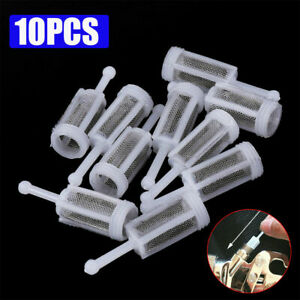 10pcs Car Disposable Gravity Feed Filter Paint Spray Gun Mesh Strainers Tool New