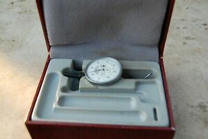 Interapid Dial Test Indicator Model 310b 3 Red Line Classic In Case