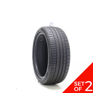 Set Of 2 Used 225 40r18 Continental Contisportcontact 5 Mo 92y 7 5 8 32