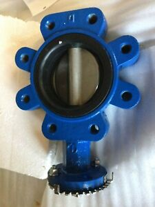 Abz 4 250 Psi Butterfly Valve Ductile Iron Body 316 Disc Epdm Seat