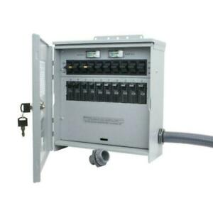Reliance Controls Pro tran2 30 Amp Outdoor 10 Circuit Transfer Switch
