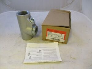 Crouse Hinds Eys5 1 1 2 Explosion Proof Seal Off Eyf150