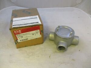 New Crouse Hinds Guat36 Explosion Proof Junction Box T Style