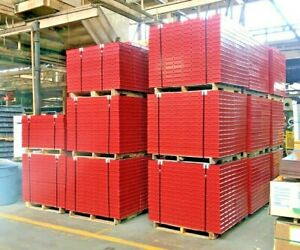 new Symons Sureply Concrete Wall Forms Steel ply 24 X 4 Panels 30 Pcs